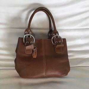 ❤️ Tignanello Vintage Mini Sachel Leather Bag
